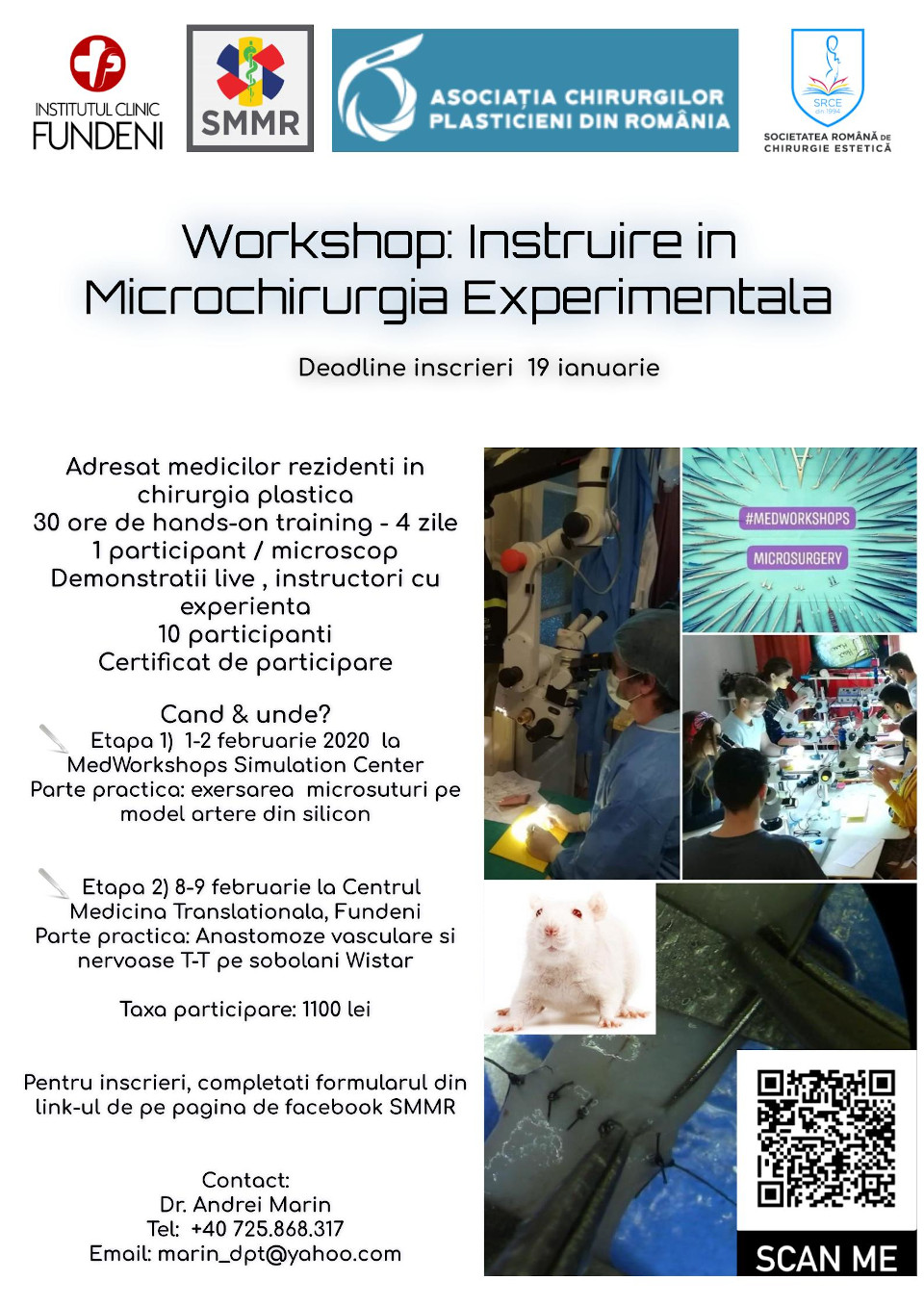 Workshop de microchirurgie